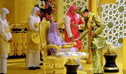 Кралска сватба в Бруней