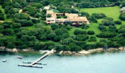 Берлускони  все още иска 450 млн. евро за вилата си на Сардиния