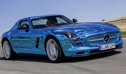 Mercedes представи най-бързия електрически автомобил в света