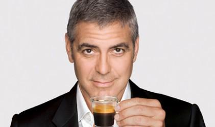 Джордж Клуни е получил 40 млн. долара от Nespresso