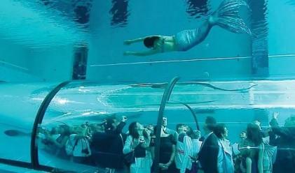 Италиански басейн подобри рекорда за най-дълбок в света