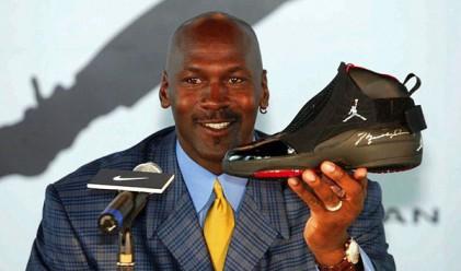 Майкъл Джордан днес печели повече, отколкото в цялата си кариера