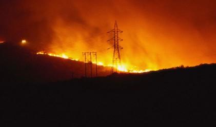 Отново бедствено положение в Гълъбово заради пожар