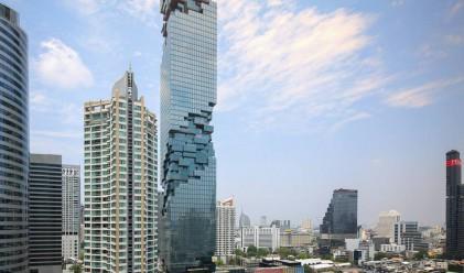 Най-високата сграда в Тайланд беше открита тази седмица