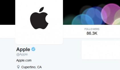 Най-после! Apple се сети, че има официален Twitter акаунт!