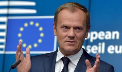 Туск: Капацитетът на ЕС да приема бежанци се изчерпва