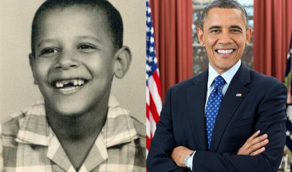 Американските президенти като деца