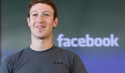 Марк Закърбърг продаде акции на Facebook за 285 млн. долара