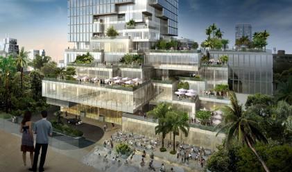 Вижте новия най-висок небостъргач в Банкок