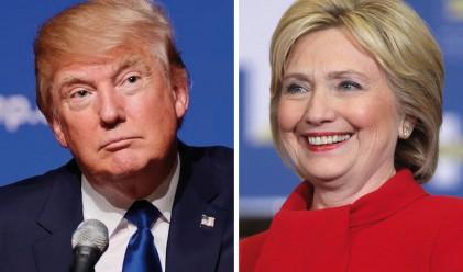 Клинтън и Тръмп в остър сблъсък за работните места и тероризма