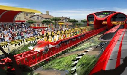 Най-бързото и най-високо влакче в Европа ще отвори догодина