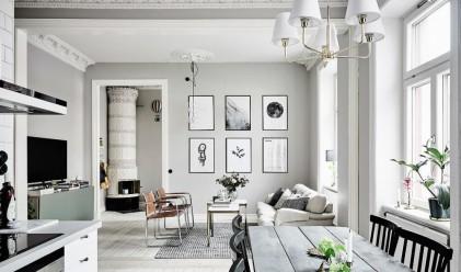 Ето как шведите живеят в 3-стаен апартамент с площ 60 кв. м