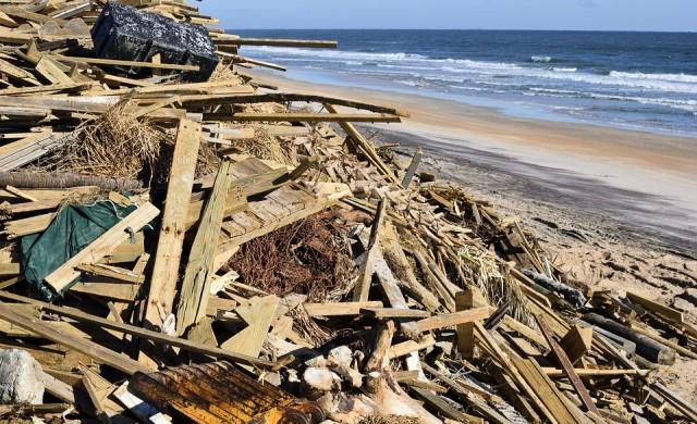 Ураганът Ирма напълно унищожи дома на Брансън на остров Некер