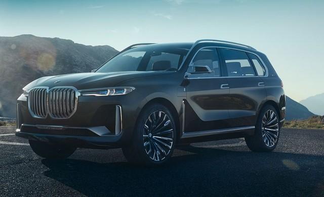 BMW представя огромен SUV модел с три реда седалки