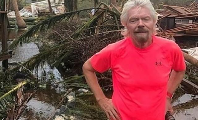 Ричард Брансън показа разрушения от Ирма остров Некер