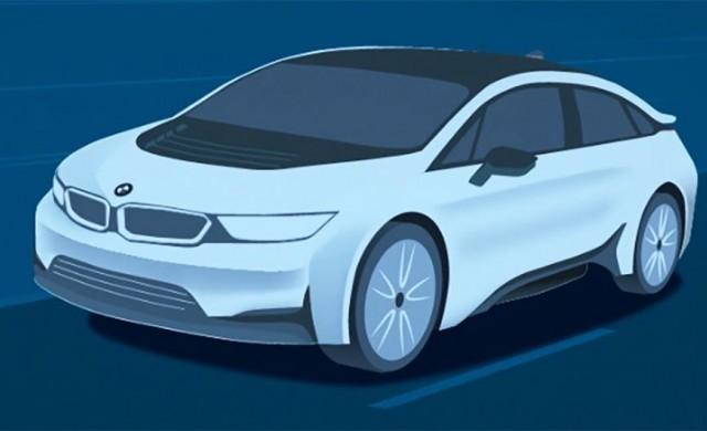 Пуснаха видео на новия електромобил на BMW