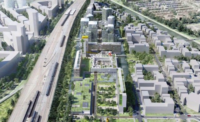 Амстердам трансформира затвор в ултрасъвременен квартал