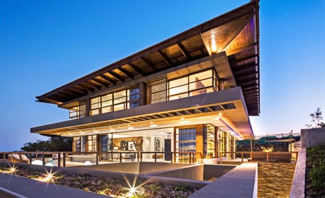 Прекрасна къща, проектирана според принципите на фън шуй