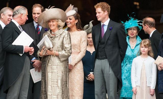 Вижте кралската линия за наследяване на британския престол