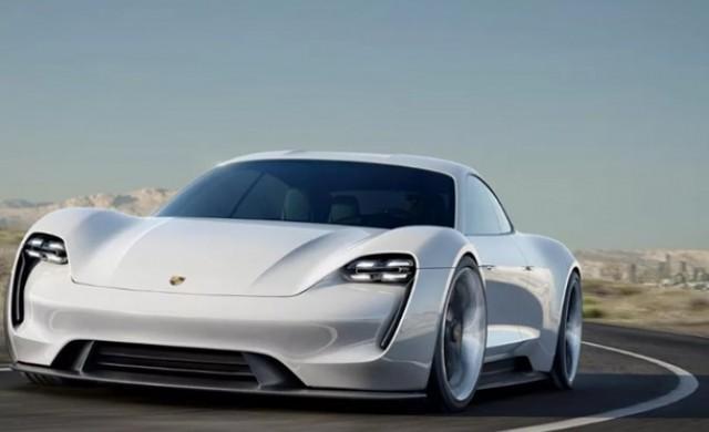 Porsche подготвя за пазара мощен електромобил