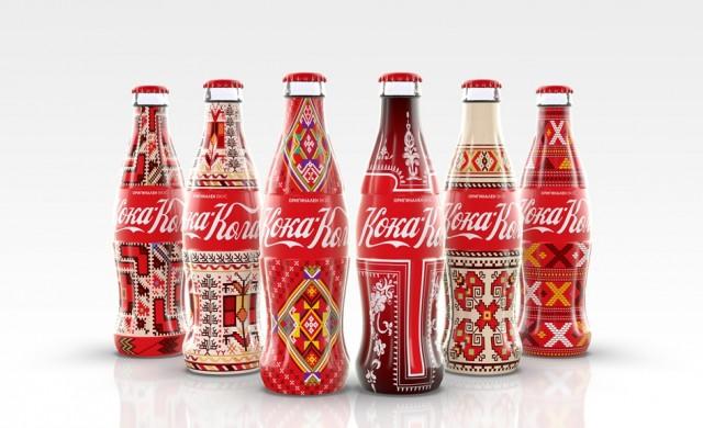 Coca-Cola с българска шевица на бутилката