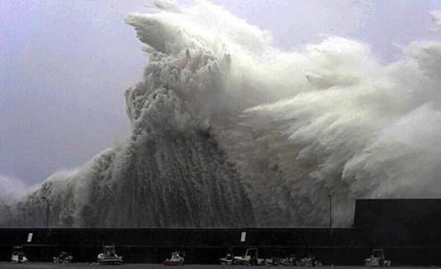 Снимки от ужаса в Япония