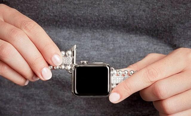 Пуснаха диамантени гривни за Apple Watch