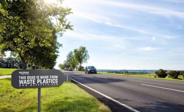 Пътища от пластмаса ще решат проблема с натрупването й