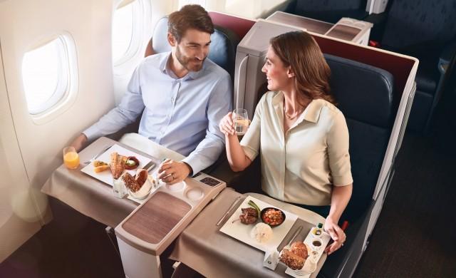 Нови специални услуги в бизнес класата на Turkish Airlines