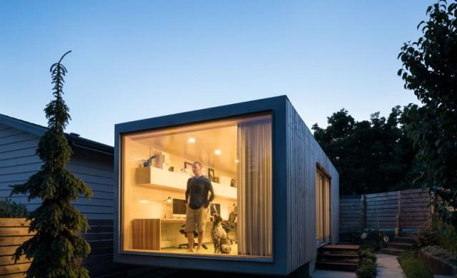 Една невероятна идея за домашен офис