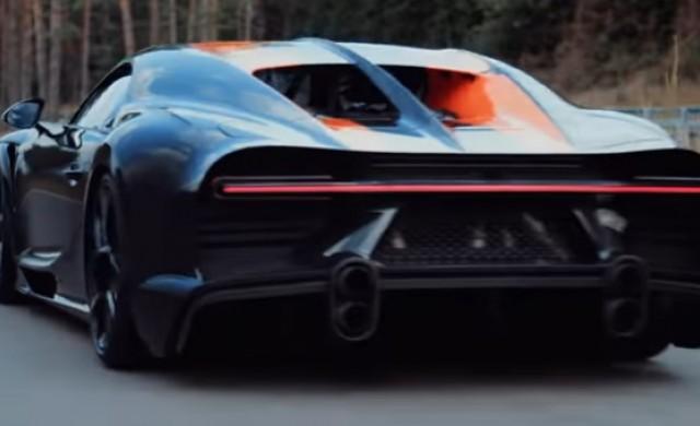 Bugatti Chiron постави нов рекорд, като разви 490 км/ч (видео)