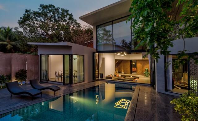 Красива и  вдъхновяваща къща в Индия