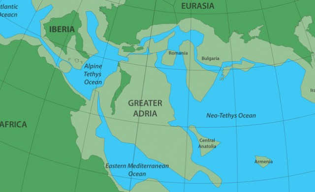 Намериха изгубен континент под Европа