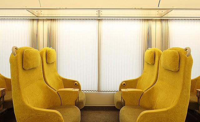 В този влак се чувствате като у дома си