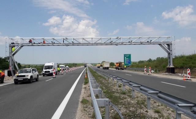 104 от монтираните тол камери на магистрали и първокласни пътища