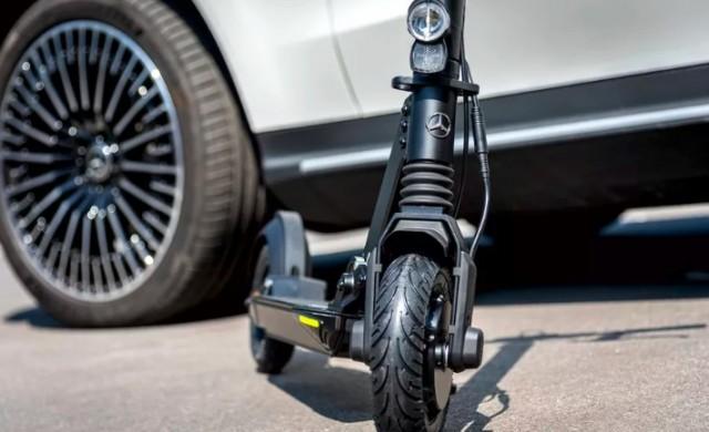 Mercedes-Benz стъпва на пазара на електрически тротинетки