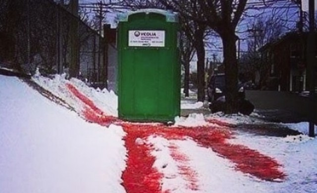 Някои от най-ужасяващите тоалетни в света (снимки)