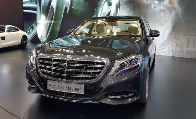 Mercedes ще защитава позиции в луксозния сегмент с електромобил Maybach