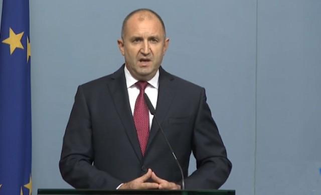 Румен Радев: Единственият изход от кризата е оставка на правителството