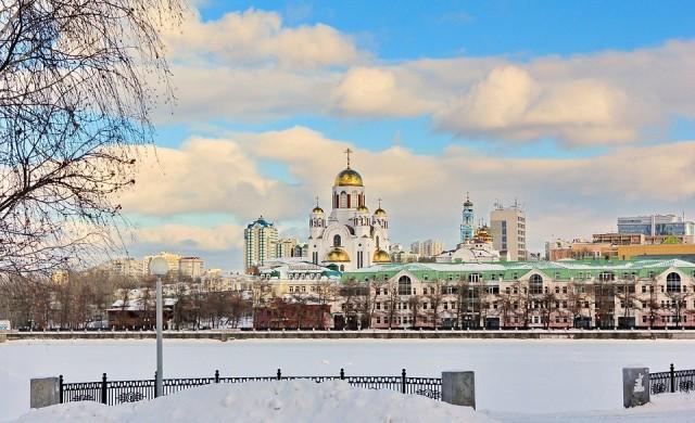 Зимата дойде: Първи сняг в Екатеринбург