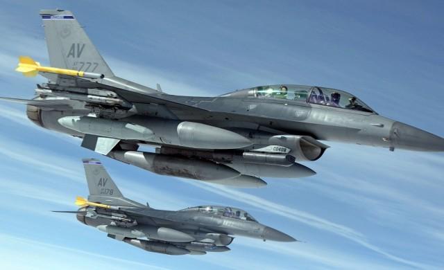 6 американски F-16 от днес охраняват небето ни