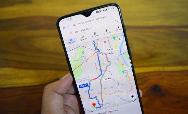 Google Maps с нова функция