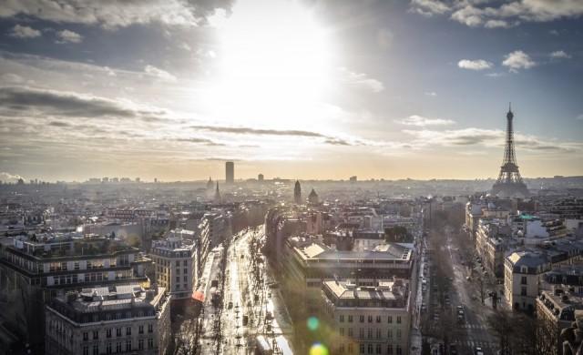 По улиците на Париж с 30 км/ч