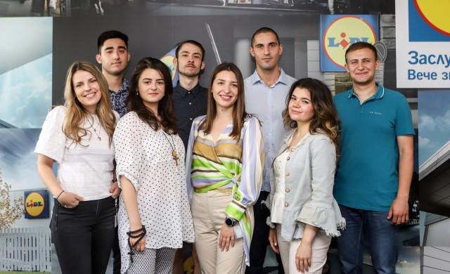 Студенти разработиха новаторски проекти за Лидл България