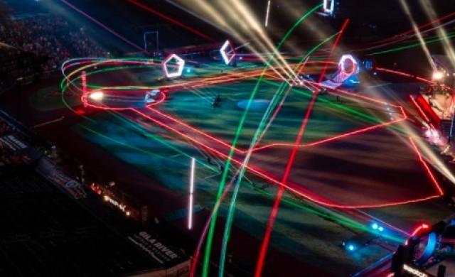 Лига за състезания с дронове сключи спонсорски договор за 100 млн. долара