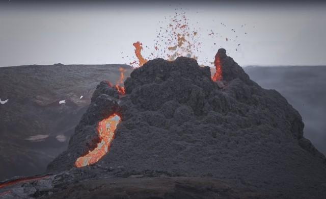 Вулкан изригна на испанския остров Ла Палма