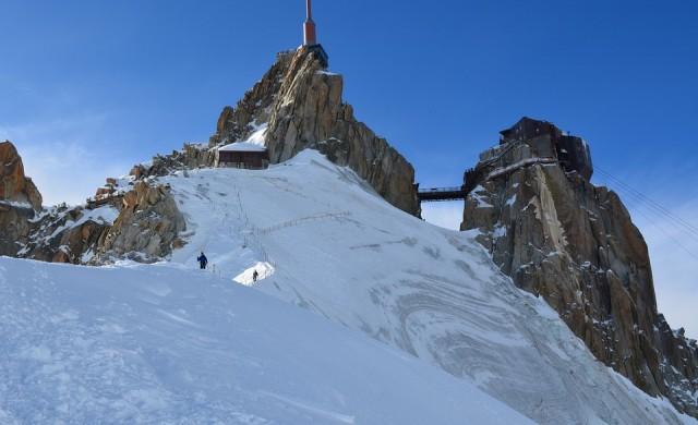 Най-високият връх в Западна Европа се е смалил с метър