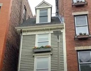 Най-тясната къща в Бостън бе продадена за 1.25 млн. долара