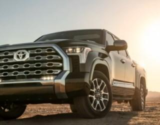 Toyota представи новия си пикап Tundra с хибриден двигател