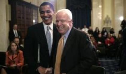Обама дръпна с 11 пункта пред Маккейн